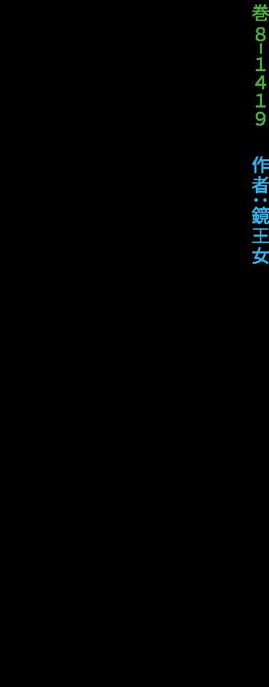 巻8-1419 作者:鏡王女 神奈備の伊賀瀬の社の喚子鳥いたをな鳴きそわが恋まさる